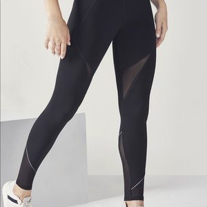 Fabletics High Waisted Power Hold Mesh Leggings